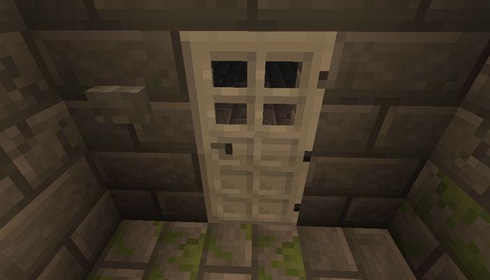 要塞の鉄のドア