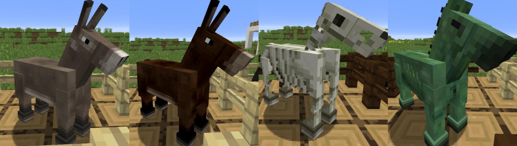 馬 繁殖 マイクラ