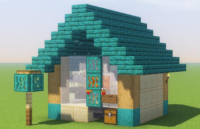 焼き鳥と羽根のトラップ建築