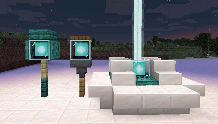 ビーコンを使った街灯デザイン