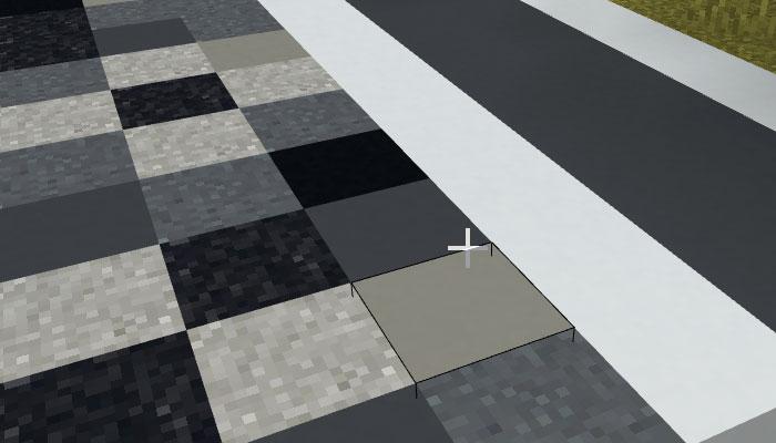 モノクロカラーのコンクリート