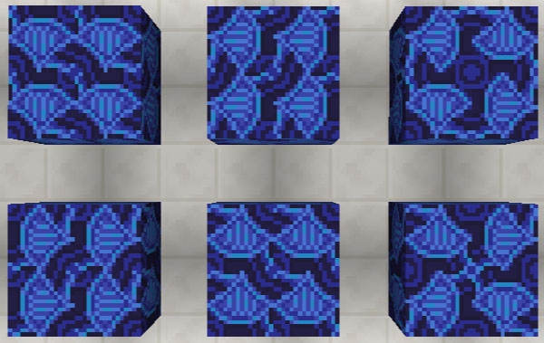 青色の彩釉テラコッタ