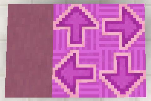 赤紫色のテラコッタと彩釉テラコッタ