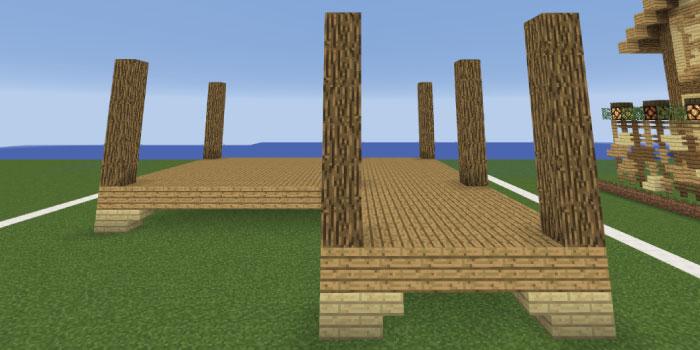 家の支柱を立てる