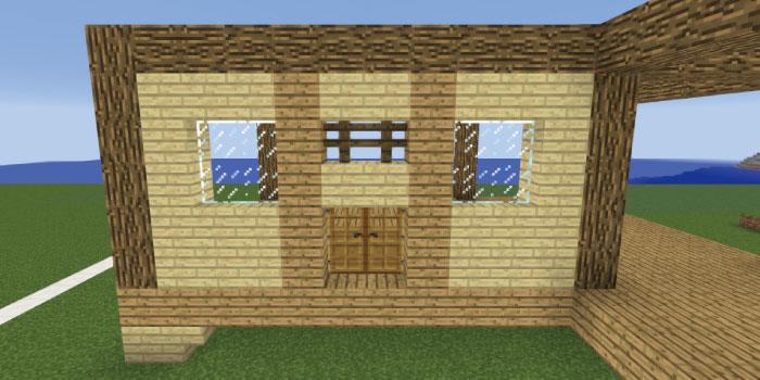 1階の壁を作る