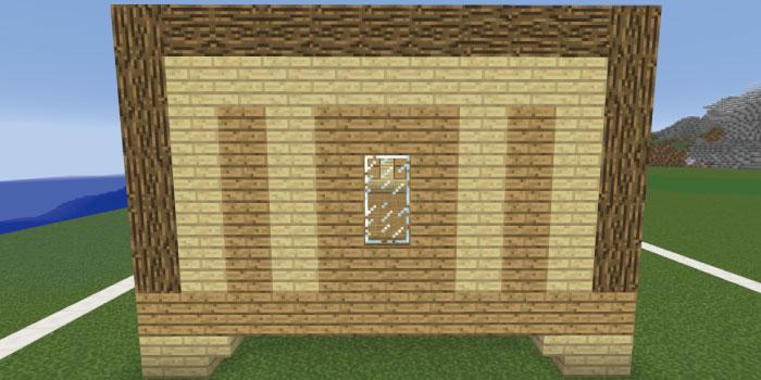 1階の壁を作る(左側側面)
