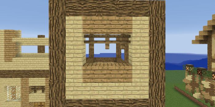 2階の壁を作る(右側前面)