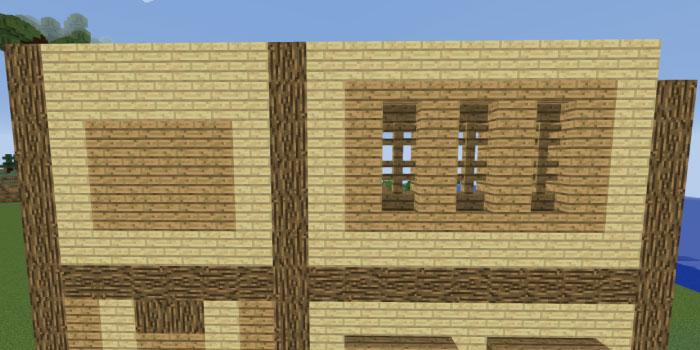 2階の壁を作る(右側側面)