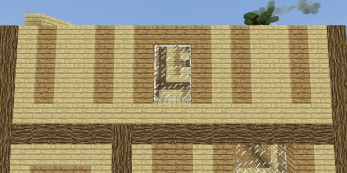 2階の壁を作る(後面)