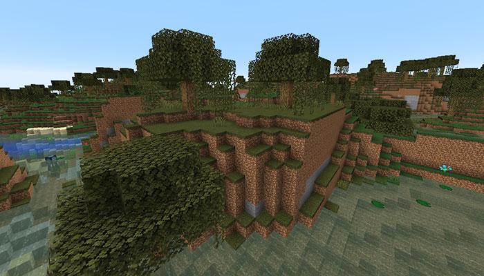 湿地の丘バイオーム