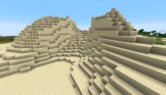 砂漠の丘バイオーム