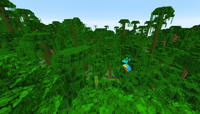 ジャングルバイオーム