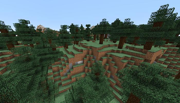 タイガの丘バイオーム