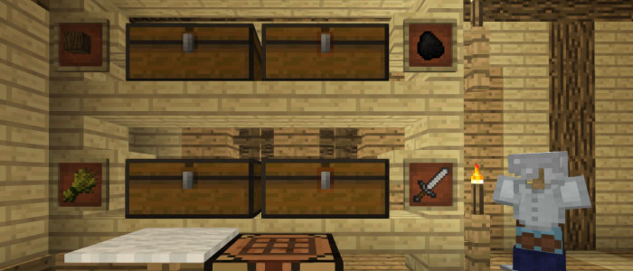 倉庫の完成