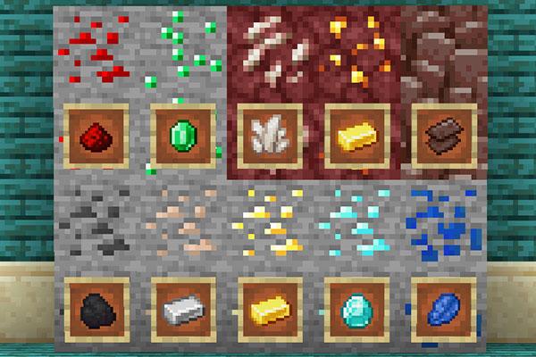 マイクラの鉱石全10種類