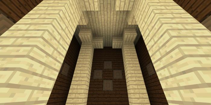 森の洋館「シラカバの柱の部屋」