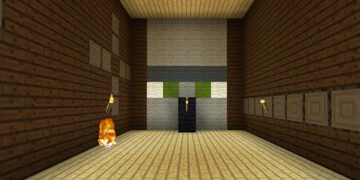 森の洋館の部屋