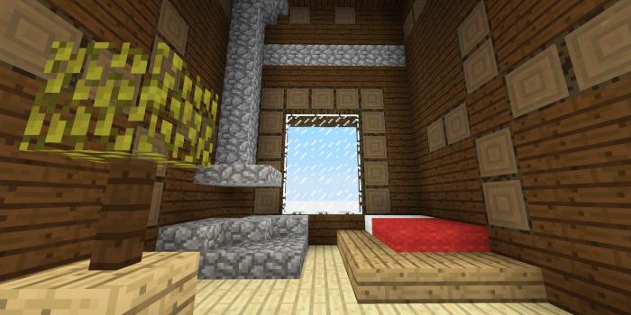 森の洋館「暖炉のあるベッドルーム」