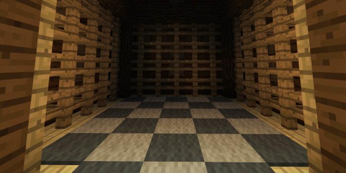 森の洋館、チェス盤の部屋