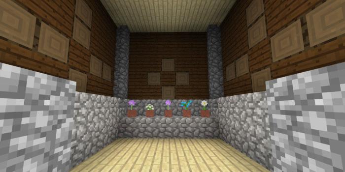 森の洋館「植木鉢の部屋」