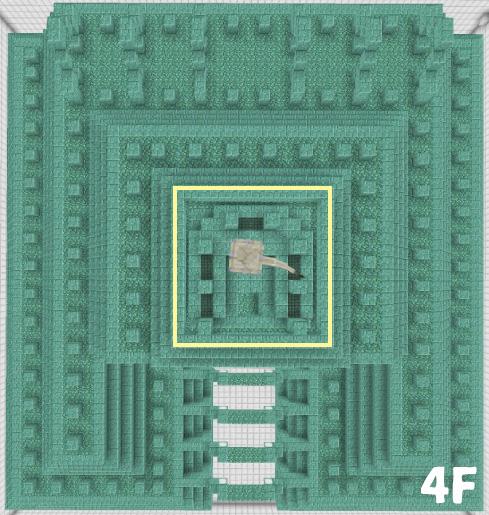 海底神殿4Fの構造