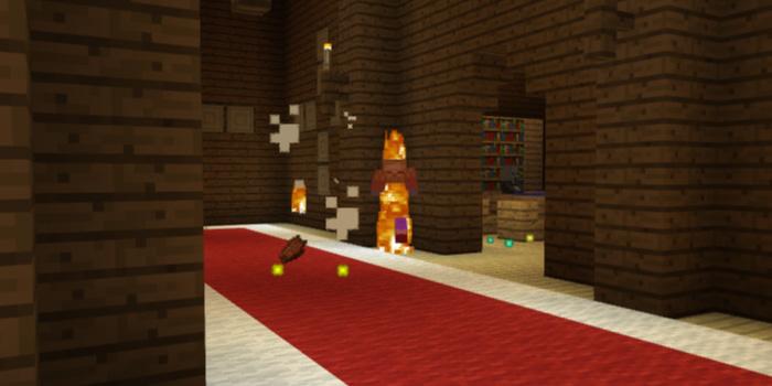 森の洋館2階のMob