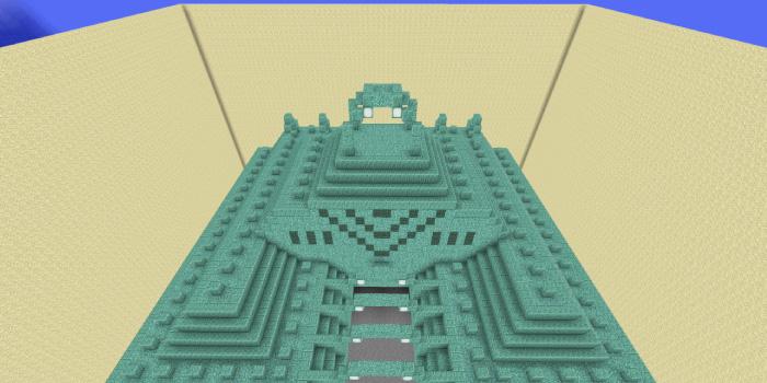 海底神殿の水抜き
