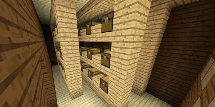 森の洋館「小さなチェストの倉庫」