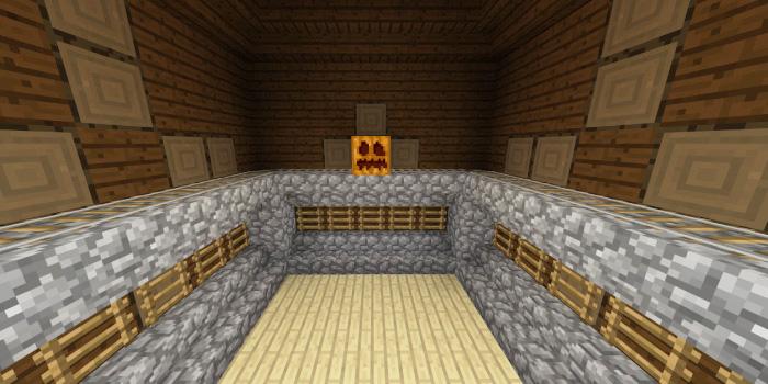 森の洋館「レールとはしごの部屋」
