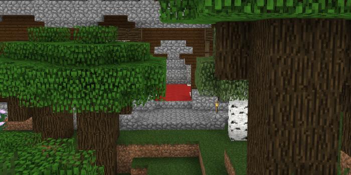 森の洋館玄関を改築