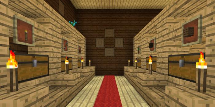 森の洋館の倉庫