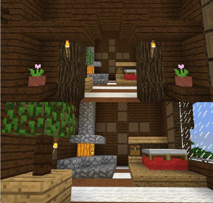 森の洋館の部屋をリフォーム