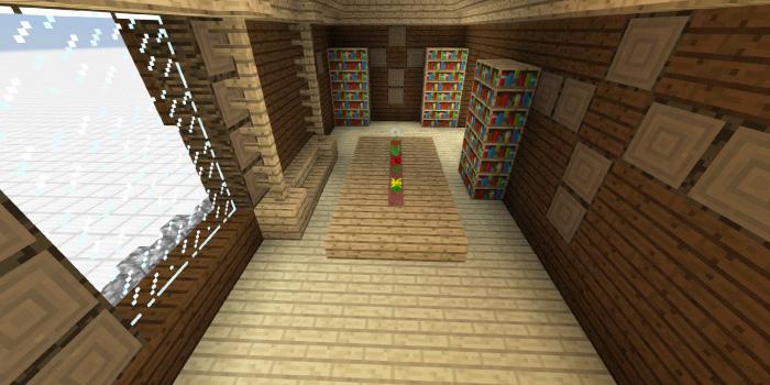 森の洋館「中くらいの図書館」