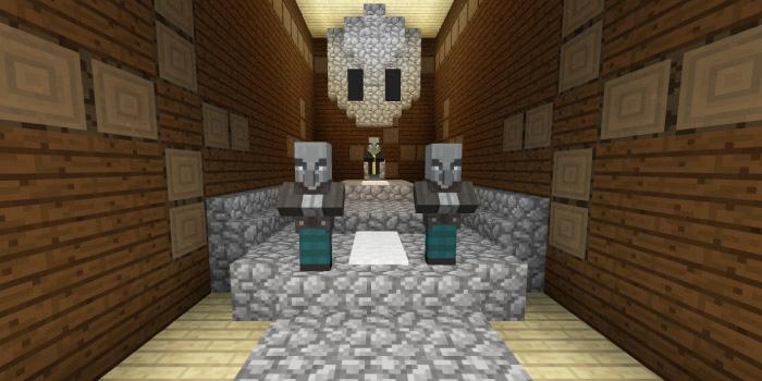 森の洋館「祭壇のある部屋」