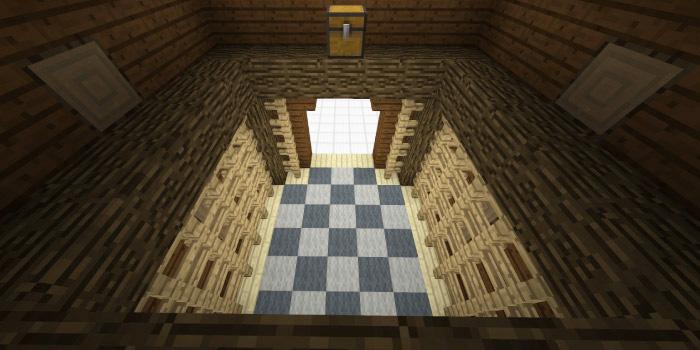 森の洋館「チェス盤の部屋」