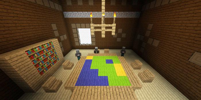 森の洋館「地図の部屋」