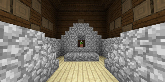 森の洋館「白色のチューリップの部屋」