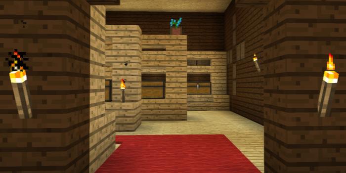 部屋の入り口に目印