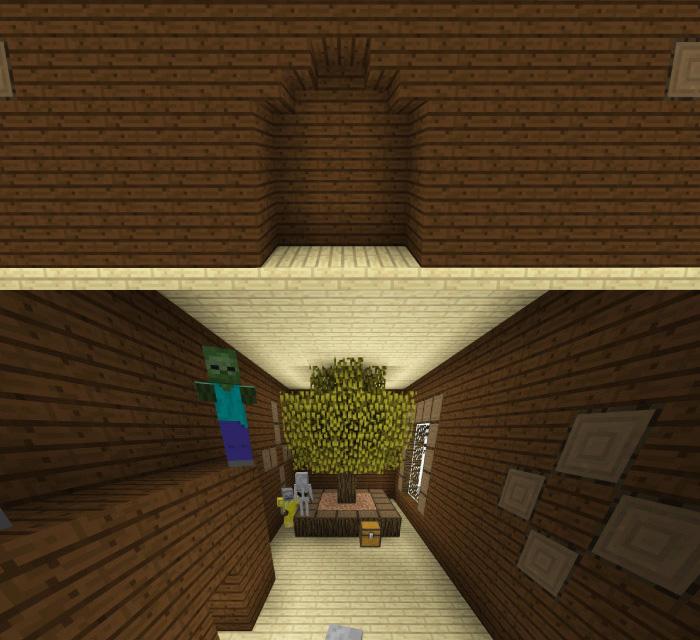 森の洋館「植林場の部屋」