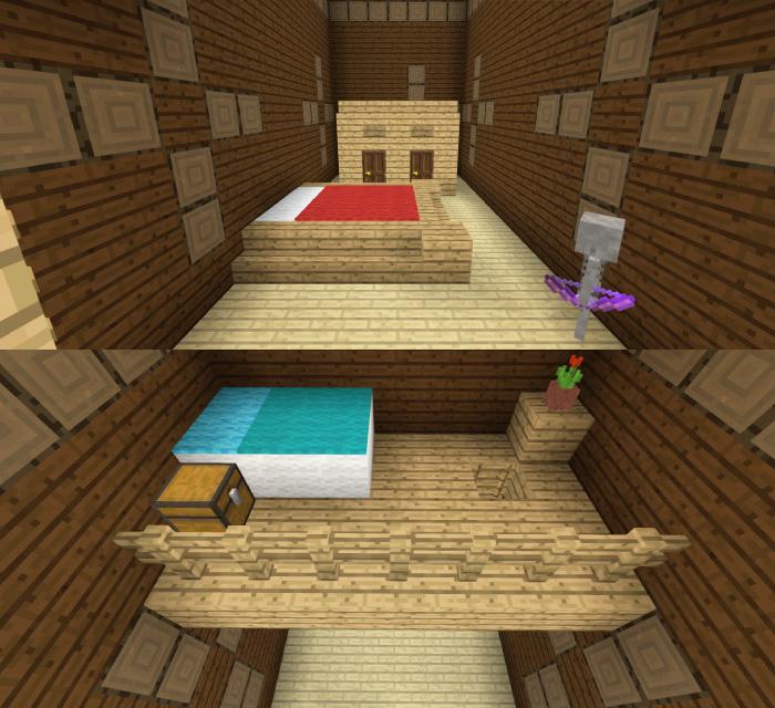 森の洋館「ロフトのあるベッドルーム」