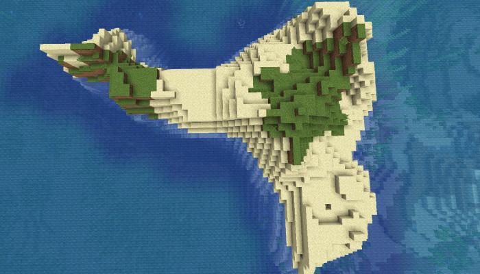 マインクラフトの孤島