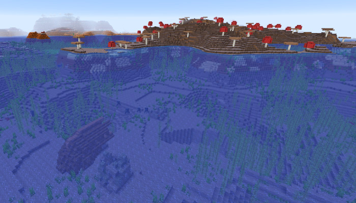 キノコ島と難破船とメサ