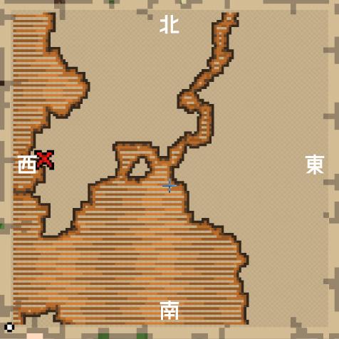 宝の地図の見方