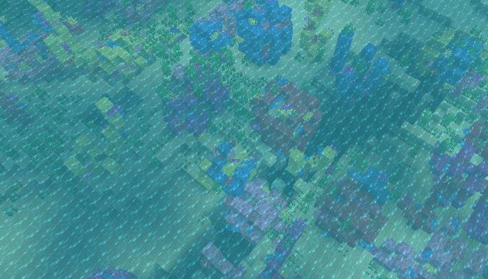 暖かい海洋バイオーム