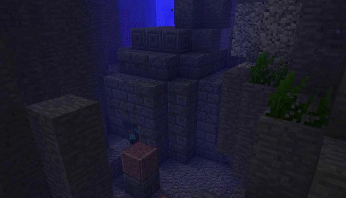 海溝に出来た水中遺跡