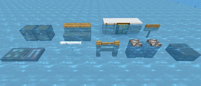 Java版の水中の挙動