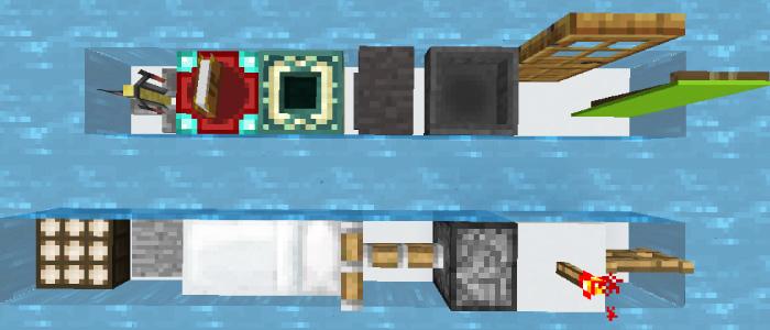 一部のブロックは空気が入ったまま