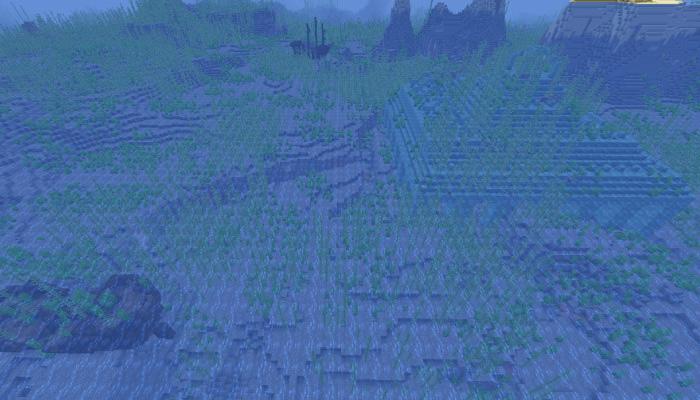 難破船と海底神殿