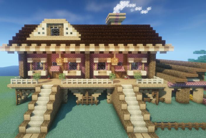 馬主の邸宅が完成