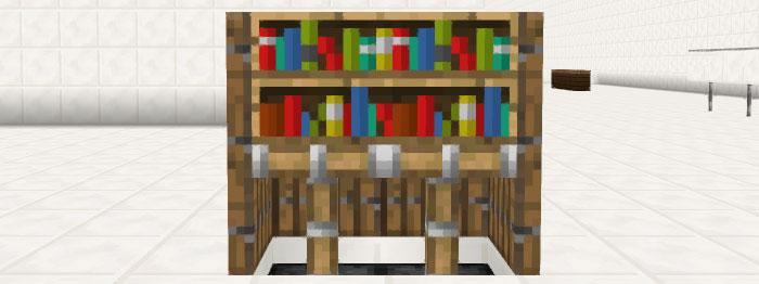 ピストン式本棚